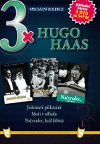 3x DVD - Hugo Haas I.