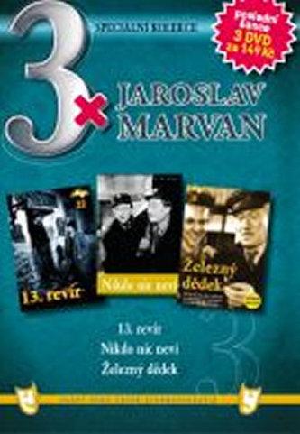 3x DVD - Jaroslav Marvan