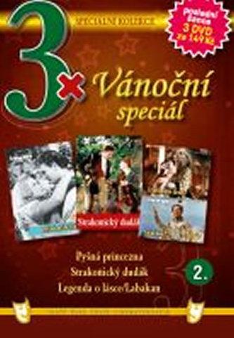 3x DVD - Vánoční speciál 2.