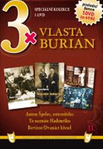 3x DVD - Vlasta Burian II.