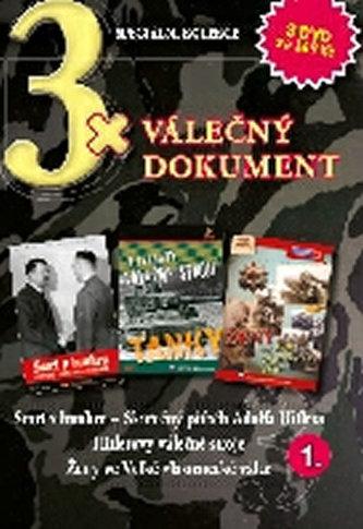 DVD set - 3x Válečný dokument 1.