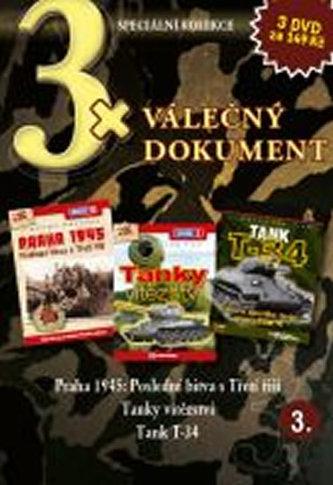 DVD set - 3x Válečný dokument 3.