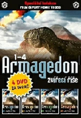 DVD set - Armagedon zvířecí říšel 1 - 4. - neuveden