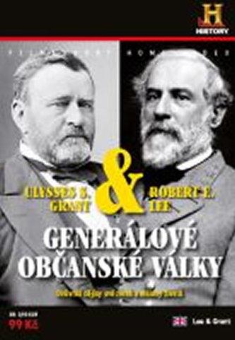 Generálové občanské války R.E.Lee& U.S.Grant - DVD digipack