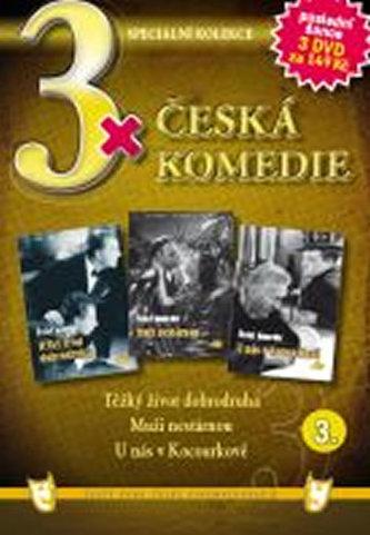 3x DVD - Česká komedie 3. - neuveden