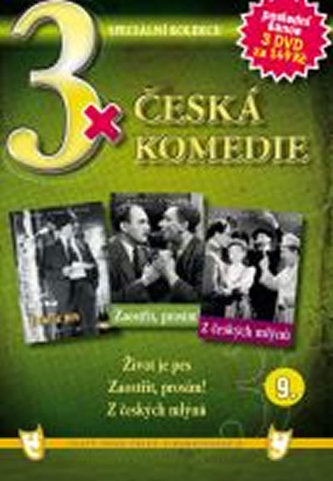 3x DVD - Česká komedie  9.