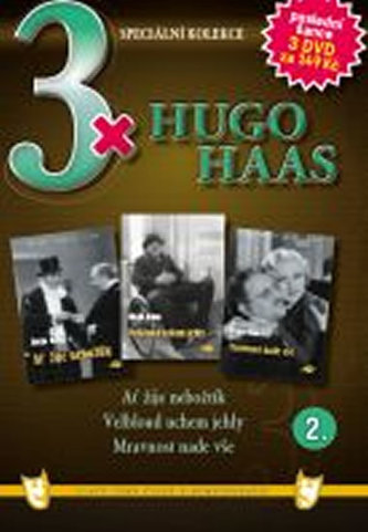 3x DVD - Hugo Haas II.