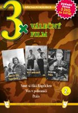 3x DVD - Válečný film 2.