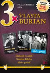 3x DVD - Vlasta Burian III.