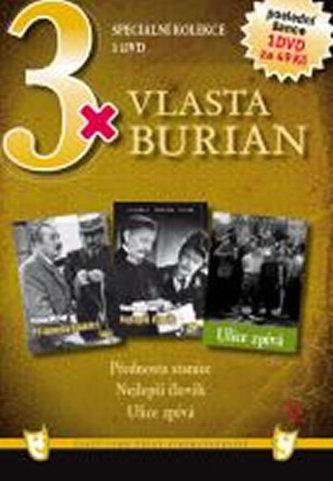 3x DVD - Vlasta Burian V.
