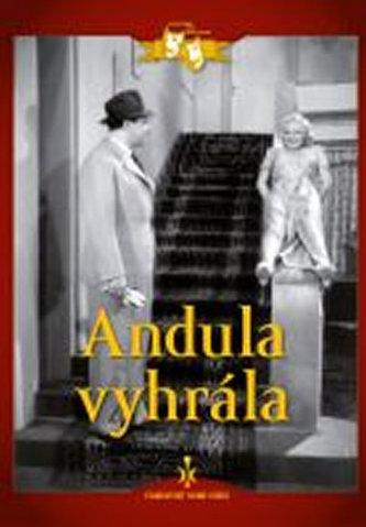 Andula vyhrála - DVD digipack