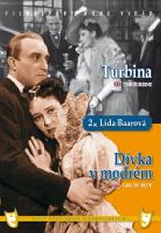 Dívka v modrém/Turbina (2 filmy na 1 disku) - DVD box - neuveden