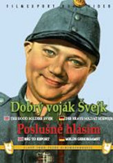 Dobrý voják Švejk/Poslušně hlásím - 2x DVD - digipack v šubru