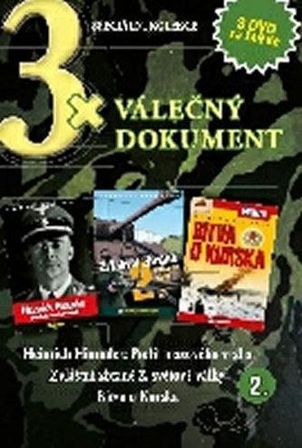 DVD set - 3x Válečný dokument 2.