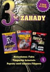 DVD set - 3x Záhady 1.