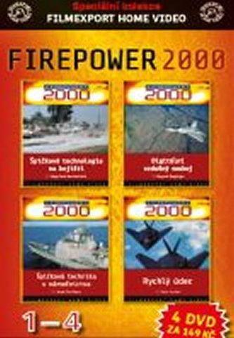 DVD set - Firepower 1.- 4. - neuveden