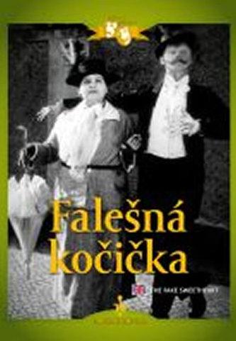 Falešná kočička (1926) - DVD digipack, němý film s Vlastou Burianem