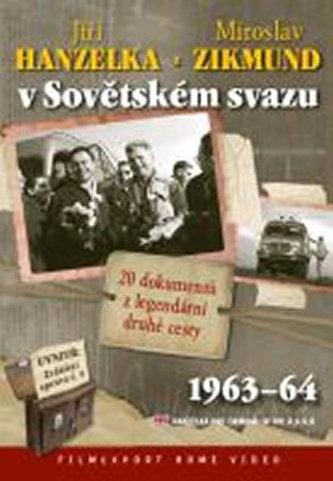 Hanzelka a Zikmund v Sovětském svazu - 2 DVD digipack v šubru + brožura