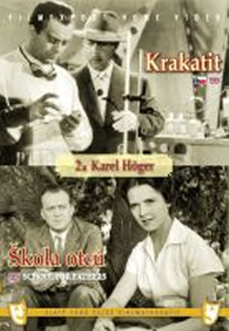 Krakatit/Škola otců - (2 filmy na 1 disku) - DVD box