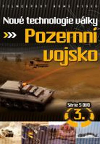 Nové technologie války 3. - Pozemní vojsko - DVD digipack