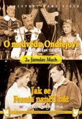 O medvědu Ondřejovi/Jak se Franta naučil bát - (2 filmy na 1 disku) - DVD box