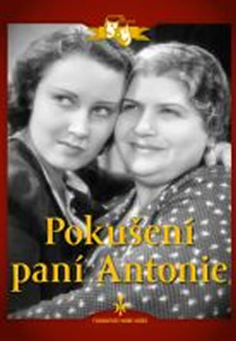 Pokušení paní Antonie - DVD digipack