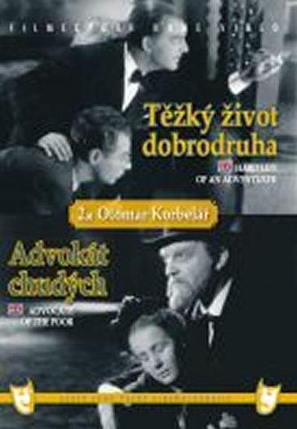 Těžký život dobrodruha/Advokát chudých (2 filmy na 1 disku) - DVD box - neuveden