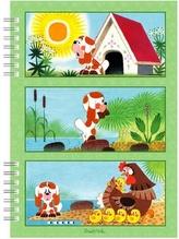 Školní zápisník Štěňátko