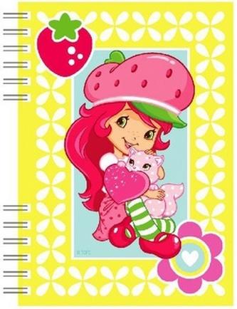 Školní zápisník Strawberry