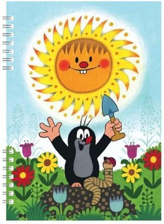 Školní zápisník Krtek