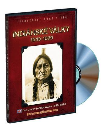 Indiánské války 1540 - 1890 - 3 DVD digipack v šubru