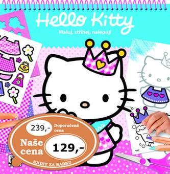Hello Kitty - Maluj,stříhej,nalepuj! - neuveden