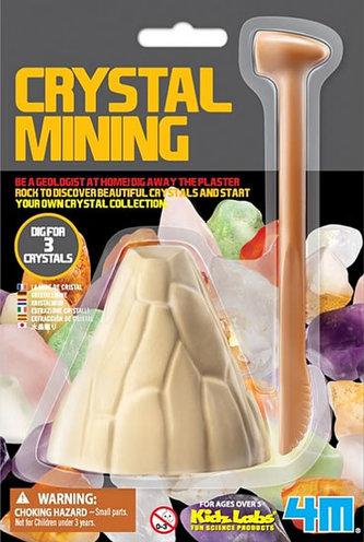 Vykopávky krystalů