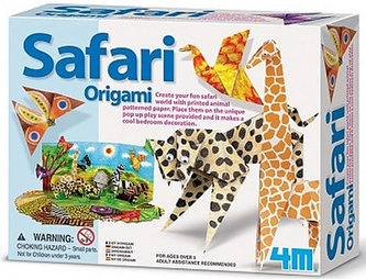 Origami set - Safari