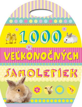 1000 Vežkonočných samolepiek