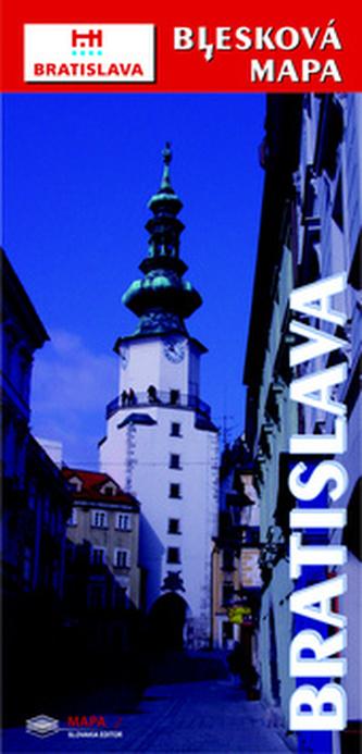 Bratislava Blesková mapa