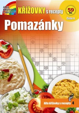 Křížovky s recepty 4 - Pomazánky