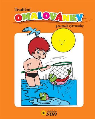 Tradiční omálovánky pro malé výtvarníky (oranžová)