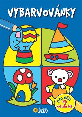 Vybarvovánky pro děti od 2 let (modrá)