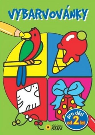 Vybarvovánky pro děti od 2 let (zelená)