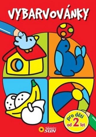 Vybarvovánky pro děti od 2 let (červená)