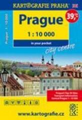 Prague - city centre in your pocket, 1 : 10 000