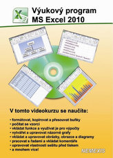 Výukový program MS Excel 2010 - CD