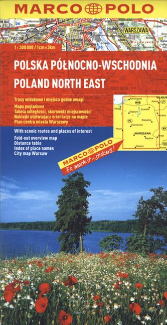 Polska Północno - Wschodnia. Mapa Marco Polo w skali 1:300 000
