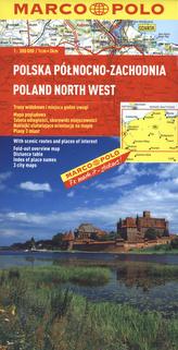 Polska Północno - Zachodnia. Mapa Marco Polo w skali 1:300 000