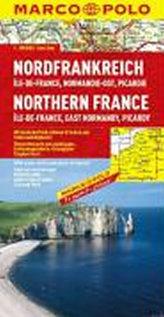 Severní Francie, Normandie východ/mapa 1:300 MD