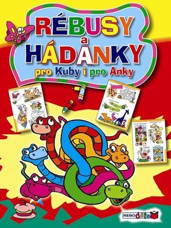 Rébusy a hádanky pro Kuby a pro Anky - 2. vydání