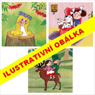České pohádky - Puzzle 3x55