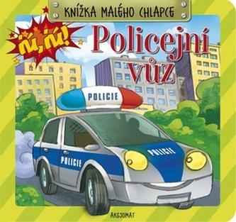 Knížka malého chlapce Policejní vozidlo