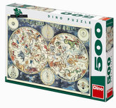 Astrologická mapa - puzzle 500 dílků